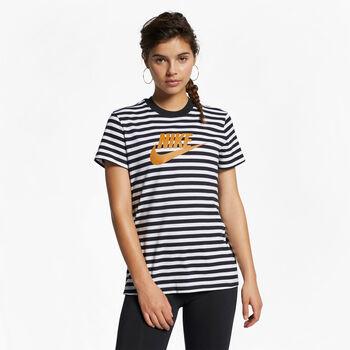 Nike Camiseta Nsw Ss La mujer Blanco