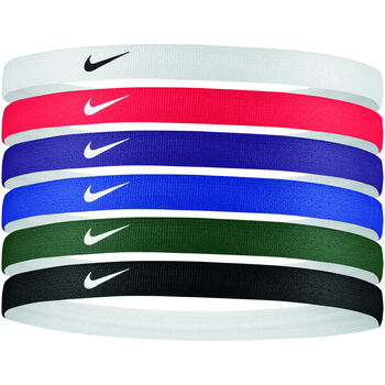 Nike Accessoires Cinta Pelo Printed Headbands 6Pk