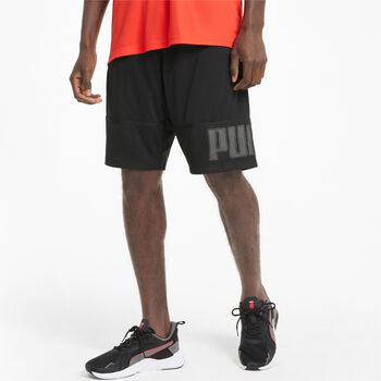 Puma Pantalón corto de entrenamiento knit 10i hombre Negro