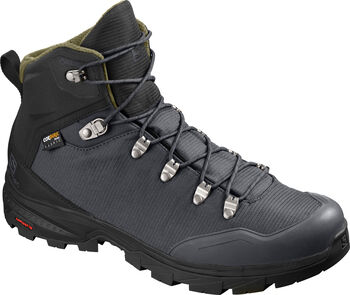 Salomon Bota OUTback 500 GTX Ebony/Bk/Grape hombre
