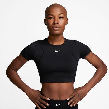 Camiseta Nike Pro Aeroadapt mujer Negro