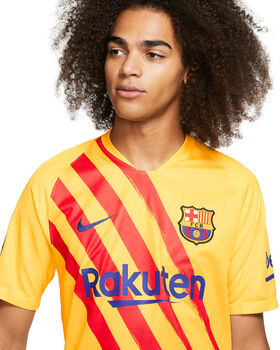 Nike Camiseta FCBNK BRT STAD JSY SS ELC hombre Amarillo