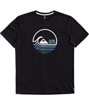 Quiksilver Camiseta manga corta Lazy Mind hombre