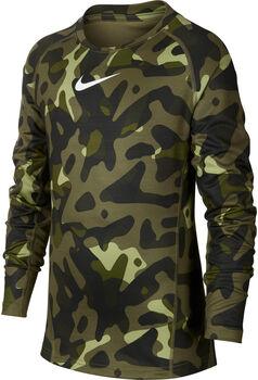 Nike Camiseta manga larga B NP THERMA CREW AOP niño