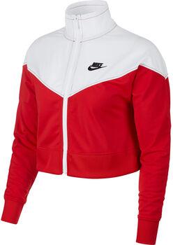 Nike W NSW HRTG TRACK JKT PK mujer Rojo