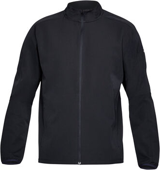 Under Armour Chaqueta Storm Out & Back para hombre Negro