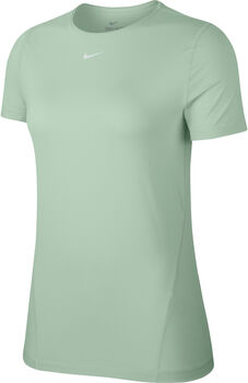 Nike Camiseta m/c W NP TOP SS ALL OVER MESH mujer