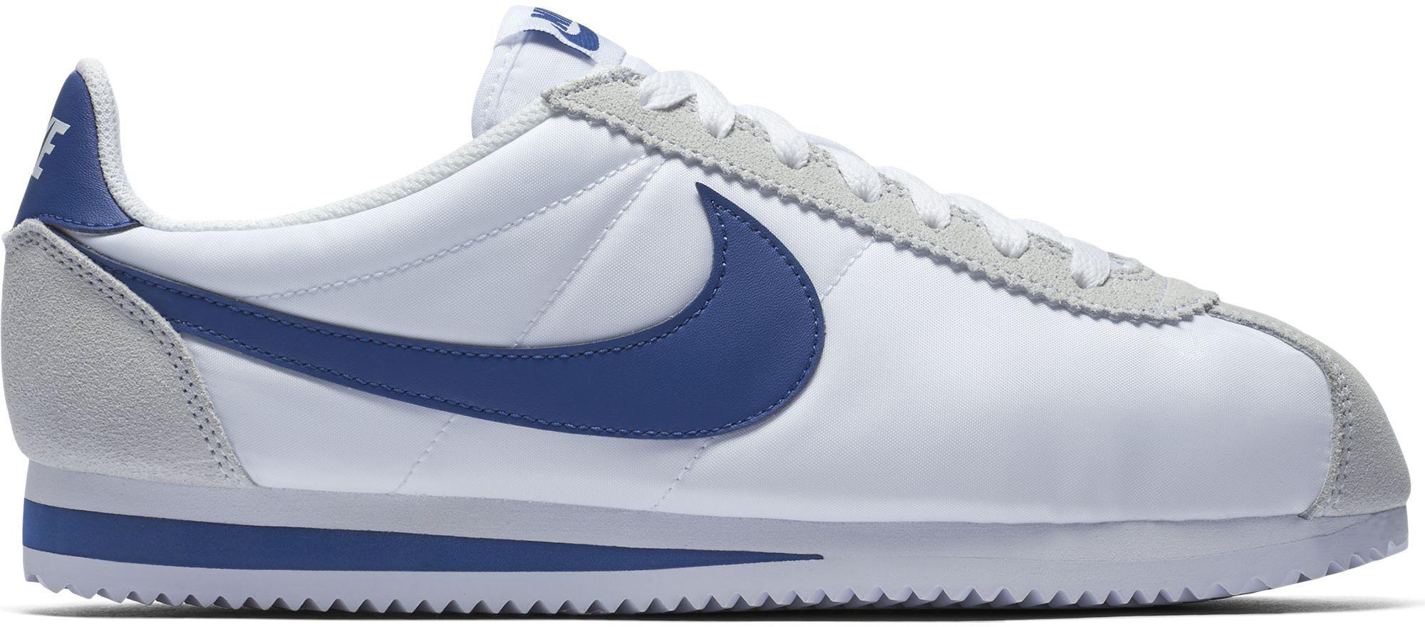 Nike Classic Cortez Nylon hombre en Blanco