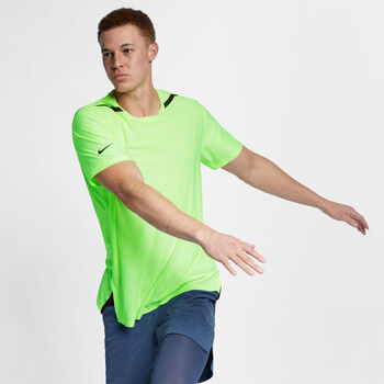 Nike Camiseta Dri-FIT Tech Pack  hombre Amarillo