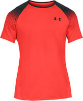 Camiseta de manga corta con estampado de rombos UA MK-1 Left Chest de hombre