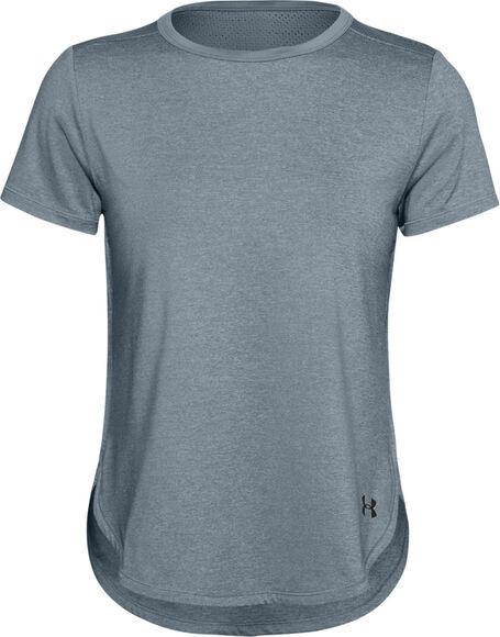 Camiseta de manga corta UA Armour Sport Crossback para mujer