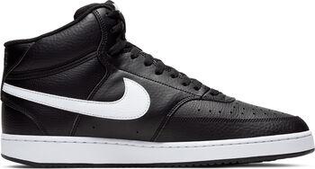 Nike Zapatillas de baloncesto Court Vision Mid hombre Negro