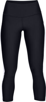 Under Armour Leggins HG Armour Ankle Crop Brande mujer Negro