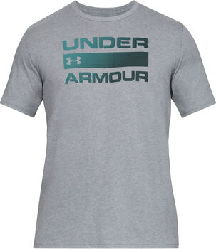 Under Armour Team issue wordmark ss hombre Gris