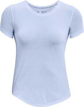 Under Armour Camiseta manga corta Streaker mujer Azul