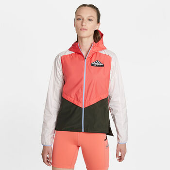 Nike Chaqueta Shield  mujer Naranja