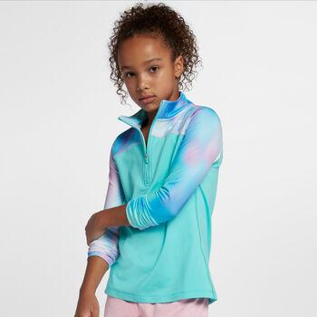 Nike Pro Warm Top LS HZ AOP2 niña