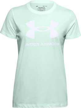 Under Armour Camiseta manga corta Sportstyle mujer Verde