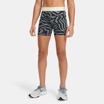 Pantalón corto ajustado Nike Pro niña Negro