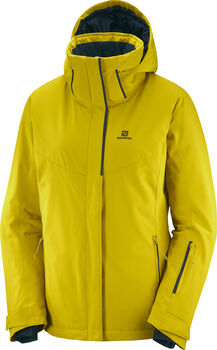 Salomon Chaqueta STORMPUNCH JKT W-GOLDEN PALM-- mujer