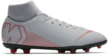 new product 22dd9 885ab Botas fútbol Nike Mercurial Superfly 6 CLUB MG hombre Gris