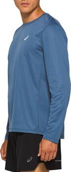 ASICS Camiseta manga larga KATAKANA TOP hombre Azul