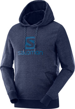 Salomon Camiseta LOGO HOODIE M-Night Sky-- hombre