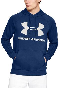 Under Armour Sudadera con capucha de tejido Fleece y logotipo Rival hombre Azul