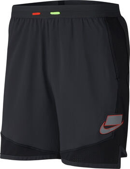 Nike ShortNK WILD RUN SHORT 7 BRIEF hombre Negro