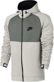Nike Nsw Av15 Hoddie Fz Flc Hombre Blanco