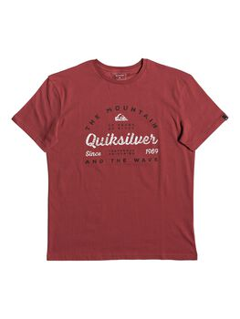 Quiksilver Drop In Drop Out - Camiseta para Hombre