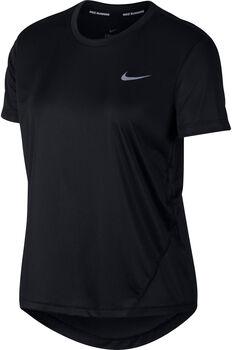 Nike Camiseta m/c Miler mujer Negro