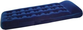 Mckinley Colchón Individual  Con Hinchador Incorporado Azul