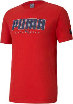 Puma Camiseta Manga Corta Athletics hombre
