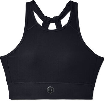 Under Armour Top Rush Bra mujer Negro