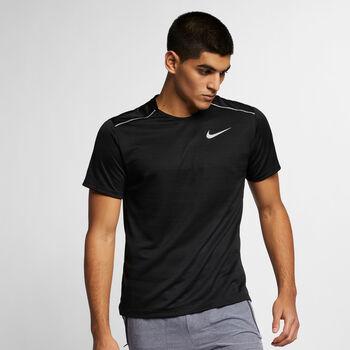 Nike Camiseta manga corta DRY MILER TOP hombre Negro