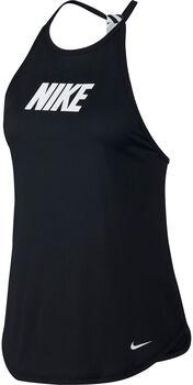 Nike Graphic Training Tank mujer Negro