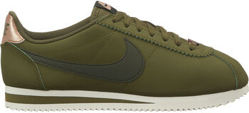 Nike Classic Cortez Leather mujer Verde