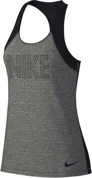 Nike Tank Htr Mujer Negro