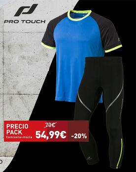 Pack Camiseta AKIN y la malla Strike PRO TOUCH hombre 4dfd3e48e77b2
